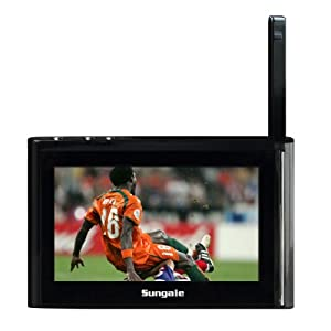 Sungale ITV430 Kula 4.3-Inch Internet TV, Black