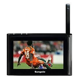 Sungale IT430 Kula 4.3-Inch Internet TV, Black