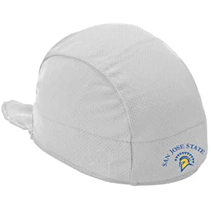 Buy NCAA San Jose State Spartans High Performance Shorty Beanie, White by Headsweats