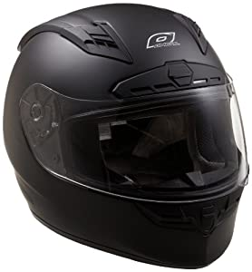 O'Neal Fastrack II Motorcycle Helmet with Bluetooth Technology (Flat Black, XX-Large)