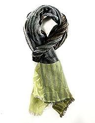Echo Design Scarf Women's Multi Colorful Yarn Dye Sripe