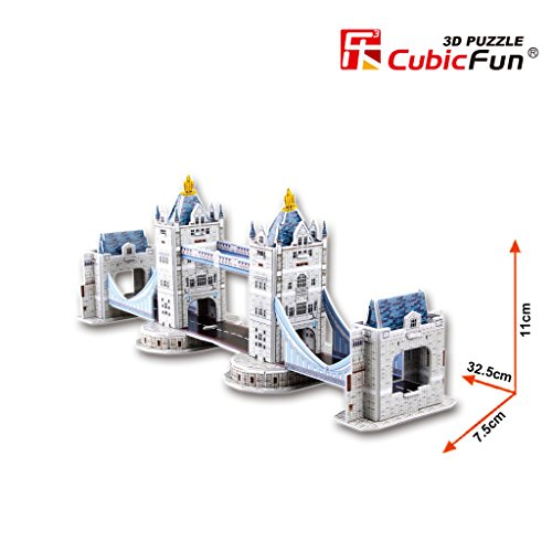 Cubic Fun Tower Bridge(UK), 36 pieces