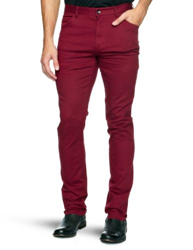 Independent Attic 121 Slim Men's Trousers Ox Blood W30INxL32IN