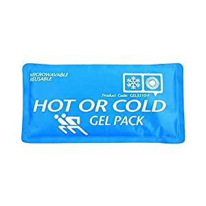 Pack Compresse Gel Chaud / Froid Réutilisable - Taille MOYENNE - Sport - Blessures - Relaxation - Entorse Foulure Gonflement
