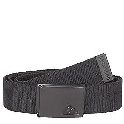 Quiksilver Men's The Jam Belt, Black, One Size