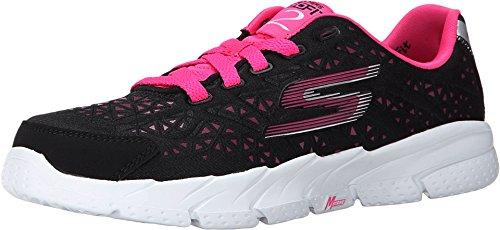 SKECHERS KIDS Girl's Go Fit 2-Presto 80654L  Black/Hot Pink