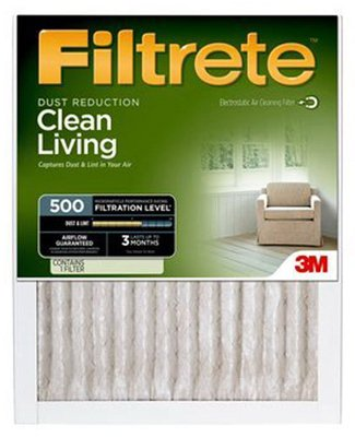 20x24x1, Filtrete Air Filter, MERV 11, by 3m (Pack of 6) (Filtrete 20x24x1 Air Filter compare prices)