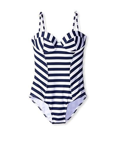 OndadeMar Women's Nautical Spring One-Piece Swimsuit