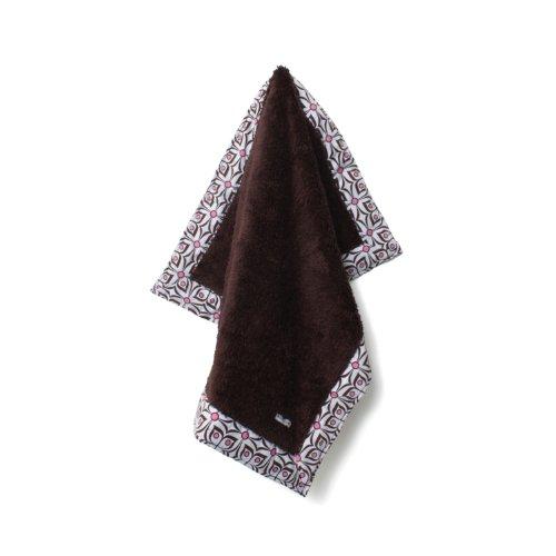 Baby Star Poodle Blanket, Flutter Pink/Chocolate