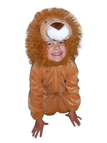 Fantasy World Boys/Girls Lion Halloween Costume, Size 9, F57 (Scary Halloween Costume Idea)