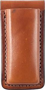 Bianchi 20A Open Magazine Pouch, Plain Tan - Browning BDA .45, S&W 1006 & Similar - 10734