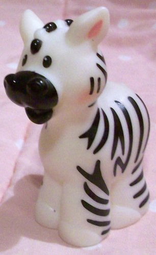 Fisher Price Little People Alphabet Zoo Z Animal Zebra Replacement Figure Doll Toy - 1
