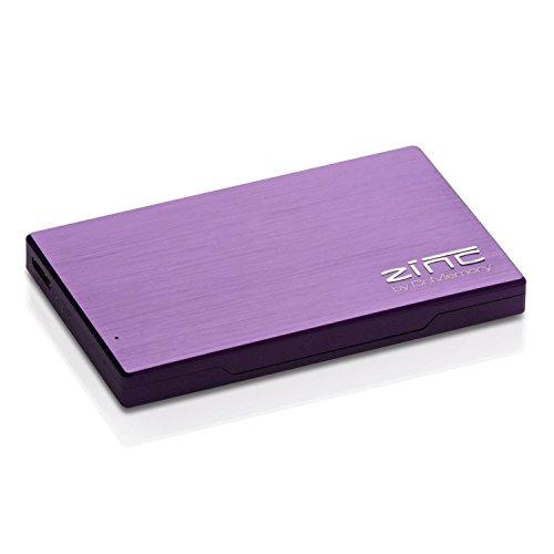 CnMemory Zinc 160GB externe Festplatte (6,4 cm (2,5 Zoll), USB 3.0) violett