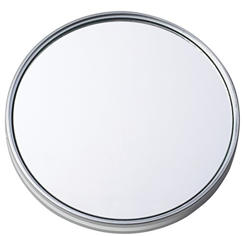 Danielle Extreme Suction Mini Mirror, Silver