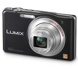 PANASONIC DMC-SZ1 - black Plus Compact Camera Case Plus 8 GB SDHC Memory Card