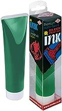 Essdee Calidad Premium bloque de impresión de tinta (100ml), color verde, madera, multicolor