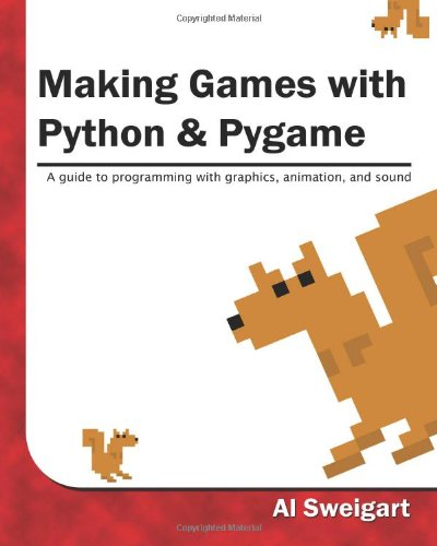 Large book cover: Making Games with Python and Pygame