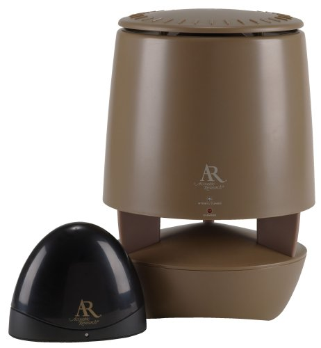 Acoustic Research AW822 900 Mhz Outdoor Wireless Speaker Single Brown