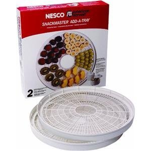 New Nesco WT-2SG Add-A-Tray for FD-37, Set of 2