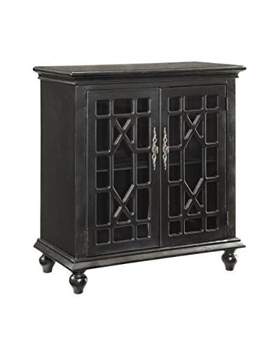 Coast to Coast 2-Door Cabinet, Black