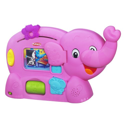 Playskool Learnimals ABC Adventure Pink Elephant Toy