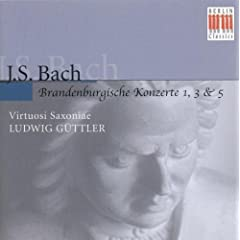 Brandenburg Concerto No. 3 in G Major, BWV 1048: I. -