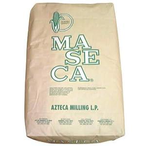Amazon.com : Maseca Golden Quality Azteca Milling Corn Flour, Regular White, 50 Pound : Corn