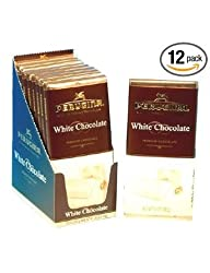 Perugina White Chocolate, 3.5-Ounce Bar (Pack of 12)