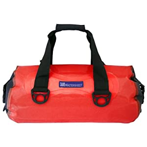 Watershed Chattooga Waterproof Duffel (Red)
