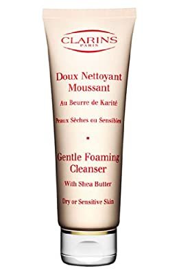 Clarins Gentle Foaming Cleanser with Shea Butter 125 ml / 4.4 oz Dry and Sensitive Skin