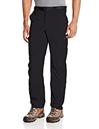Columbia Men\'s Silver Ridge Cargo Pant, Black, 36 x 30