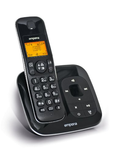 Emporia D38AB, Großtasten-cordless phone with Anrufbeanworter picture