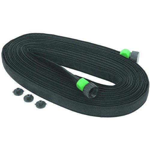 Heavy Duty Nylon Standard 3/4 X 50 Flat Soaker Seeper Drip Irrigation Hose (Weeper Hose compare prices)