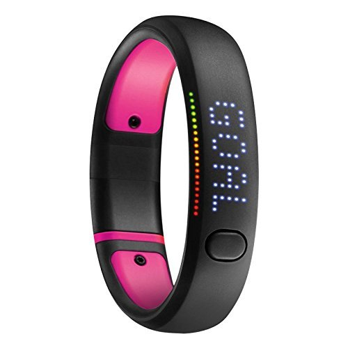 "Nike+ Fuelband SE Fitness Tracker (Black/Pink, X-Large - 7.76"") (Certified Refurbished)"