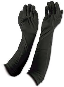 Beistle 60728-BK 2-Pack Evening Gloves