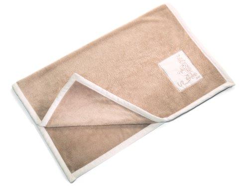 Cuddly Blanket, Cream/Caramel Steiff
