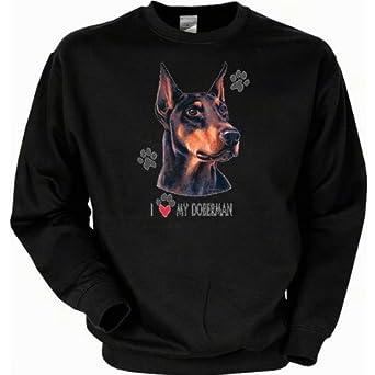 dog lover sweatshirt pullover f r damen herren und coole. Black Bedroom Furniture Sets. Home Design Ideas