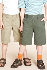 2 Pack - Pure Cotton Assorted Chino Shorts [T88-2106Z-Z]