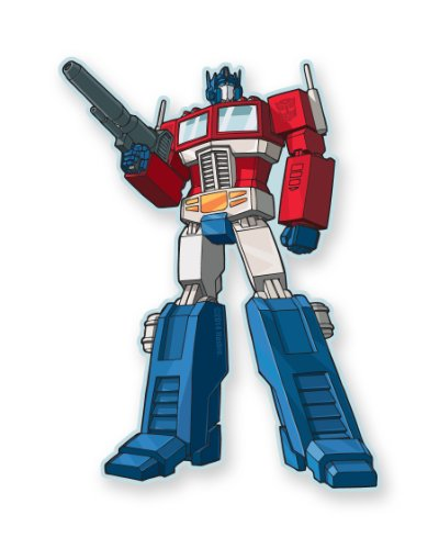 Aquarius Transformers Optimus Prime Magnet - 1