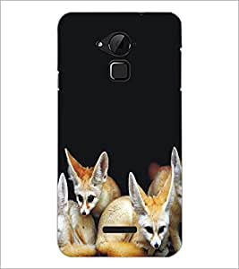 PrintDhaba Animal Design D-5324 Back Case Cover for COOLPAD NOTE 3 LITE (Multi-Coloured)
