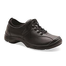 Dansko Women\'s Elise Sneaker,Black,42 EU/11.5-12 M US