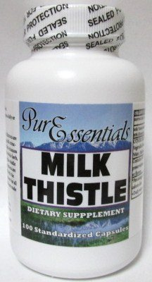 Pure Essentials Milk Thistle 100 Capsules