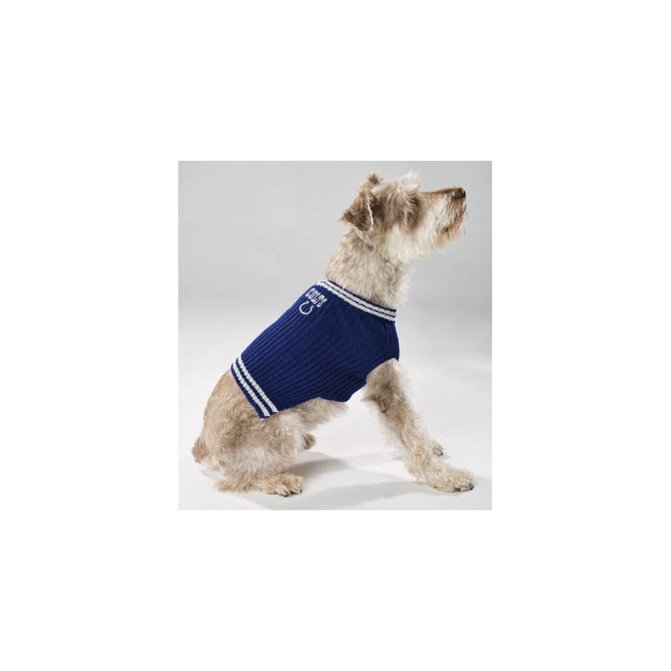 Pets First Indianapolis Colts Pet Sweater
