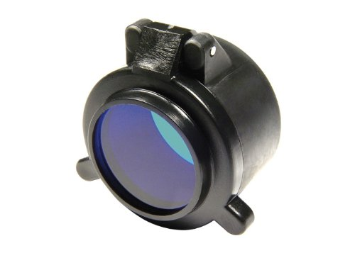"Slip On Blue Filter For Surefire Flashlights With 1.25"" Diameter Bezels"