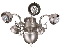 Craftmade F545CFL-BN 5 Light Universal Fitter, Brushed Satin Nickel