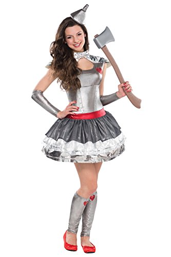 Teens Wizard Of Oz Tin HeartThrob Fancy Dress Costume