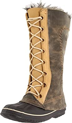 Sorel Women's Cate The Great NL1642 Boot,Curry/Biscotti,5 M US