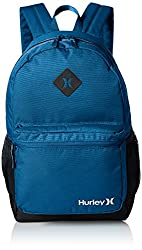 Hurley Men's Mater Backpack, Brigade Blue/Black/White, One Size