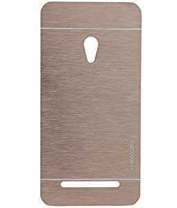 Royal Rusi - Gold Motomo Back Case , Screenguard , Aux cable For Asus Zenfone 5