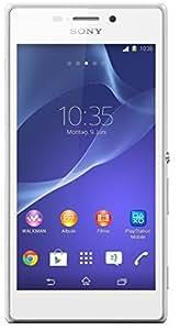 Sony Xperia M2 Smartphone débloqué (Ecran : 4.8 pouces, Android) Blanc